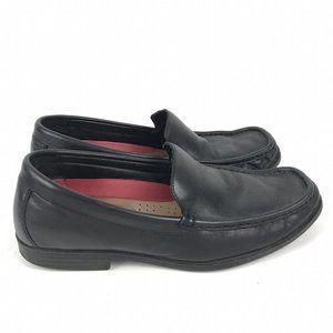 Paul Stuart Black Slip On Loafers Size 43 US 9.5